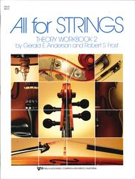 All For Strings Theory Workbook 2 - Cello