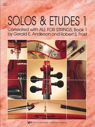 Solos And Etudes, Book1 - Cello