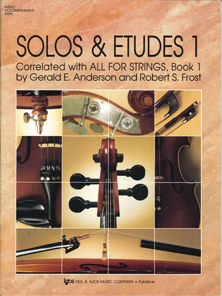 Solos And Etudes, Book1 - Pa Acc