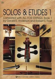 Solos And Etudes, Book1 - Viola