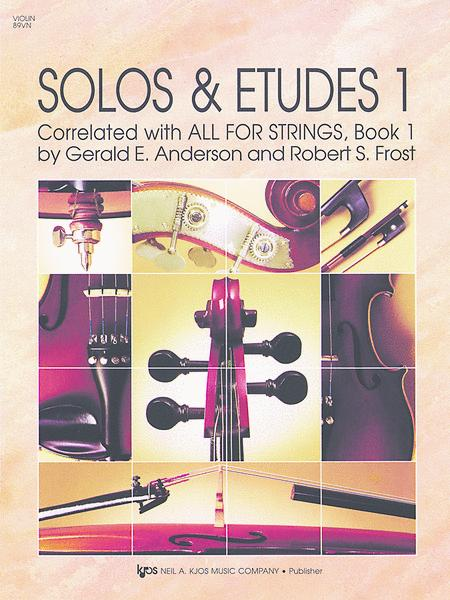 Solos And Etudes, Book1 - Violin