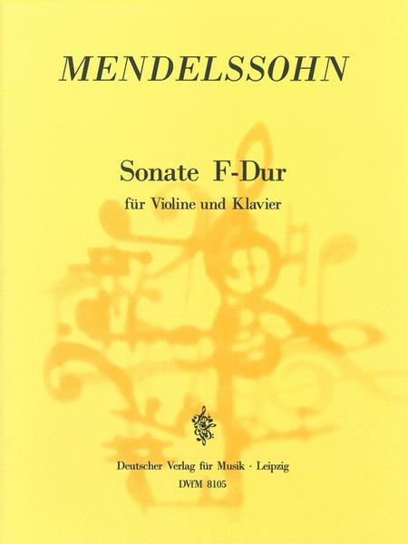 Sonata in F major MWV Q 7