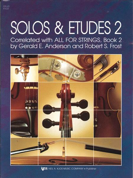 Solos And Etudes - Book 2 - Cello