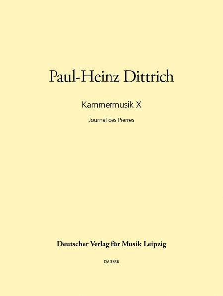 Kammermusik X (1990)