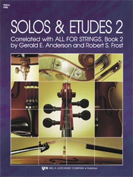 Solos and Etudes, Book 2 - Viola