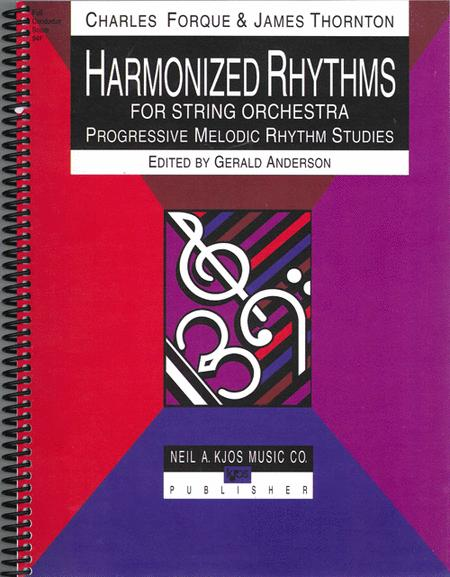Harmonized Rhythms For Strings - Score
