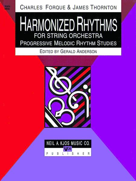 Harmonized Rhythms For Strings - Violin