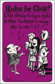 Choir Room Posters, Set 1