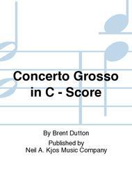 Concerto Grosso in C - Score