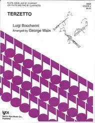 Terzetto (Flute, Oboe, Clarinet/Flute, 2 Clarinets)
