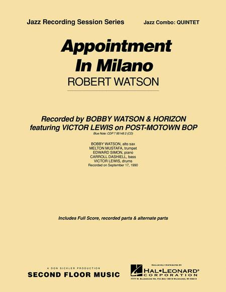 Appointment in Milano