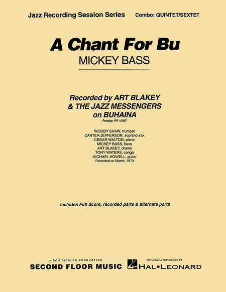 A Chant for Bu