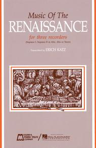 Music of the Renaissance (Score)
