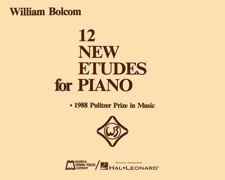 12 New Etudes for Piano