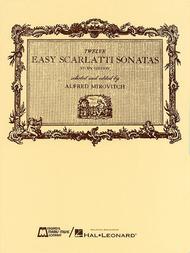12 Easy Scarlatti Sonatas