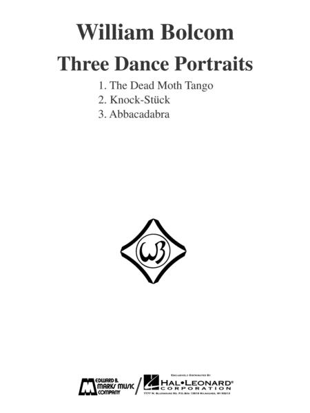 Three Dance Portraits