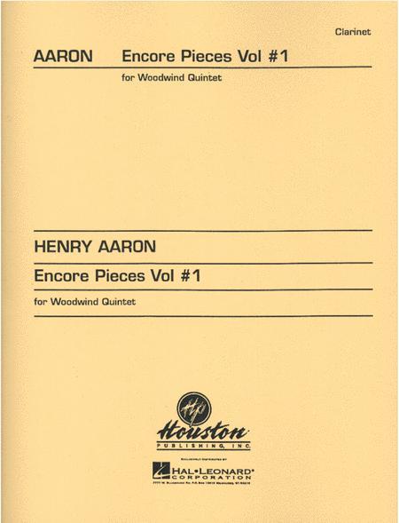 Encore Pieces For Woodwind Quintet, Volume 1 - Clarinet