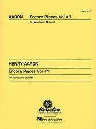 Encore Pieces For Woodwind Quintet, Volume 1 - Horn In F