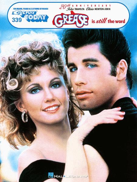Grease Is Still The Word E-Z Play Today Volume 339 PIANO SHEET MUSIC BOOK