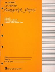 Standard Manuscript Paper ( Yellow Cover)