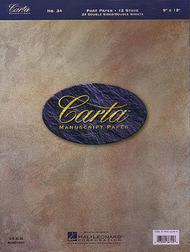 Carta Manuscript Paper No. 34 - Mid-Range