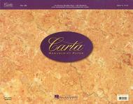 Carta Manuscript Paper No. 25 - Professional