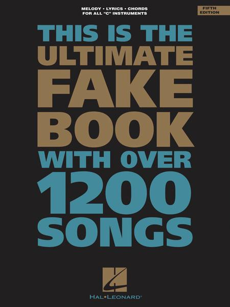 The Ultimate Fake Book 5th Edition Sheet Music By Various Sheet