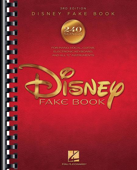 The Disney Fake Book - 3rd Edition