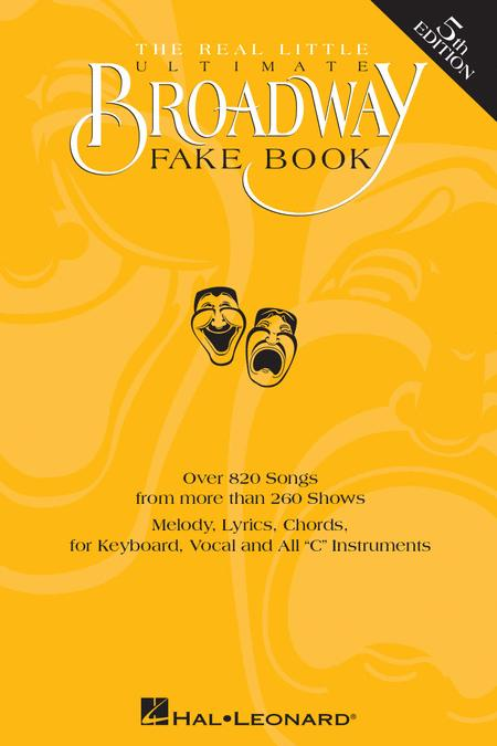 The Real Little Ultimate Broadway Fake Book 5th Edition Sheet