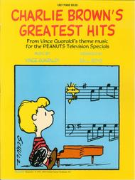 Charlie Brown's Greatest Hits - Easy Piano