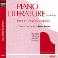 Piano Literature, Volume 3 (CD)