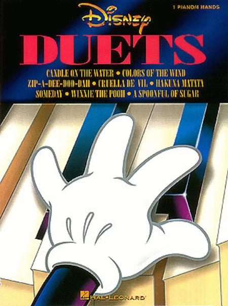 Disney Duets (1 Piano, Four-Hands)