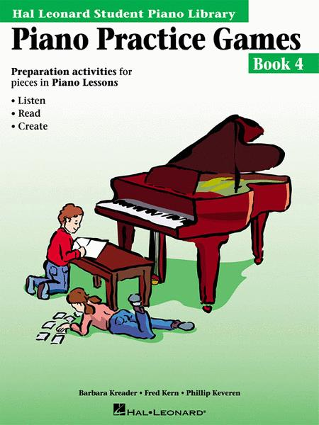 Piano Practice Games Book 4