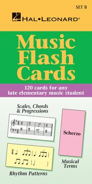 Music Flash Cards - Set B