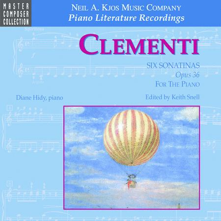 Clementi Six Sonatinas For Piano (CD)