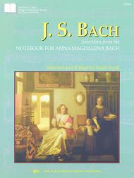 Selections From The Notebook For Anna Magdalena Bach Sheet Music By