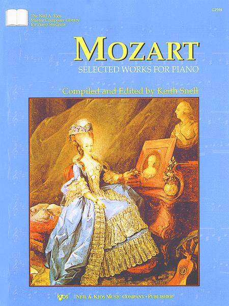Mozart Selected Works For Piano