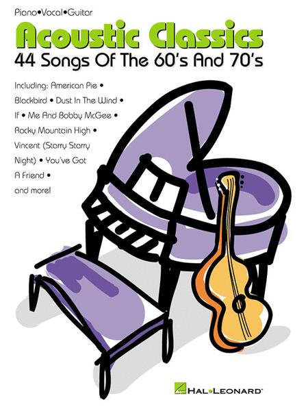 Acoustic Classics - 44 Songs Songs Of The 60s & 70s
