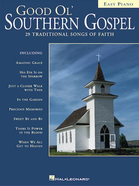 Good Ol' Southern Gospel - Easy Piano Sheet Music By Various