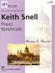 Piano Repertoire: Baroque/Classical Level 1