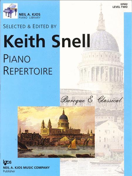 Piano Repertoire: Baroque/Classical Level 2