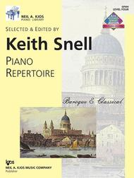 Piano Repertoire: Baroque/Classical Level 4