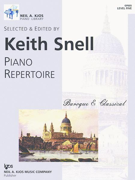 Piano Repertoire: Baroque/Classical Level 5