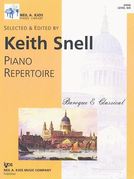Piano Repertoire: Baroque/Classical Level 6