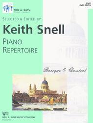 Piano Repertoire: Baroque/Classical Level 7