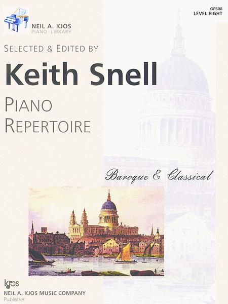 Piano Repertoire: Baroque/Classical Level 8