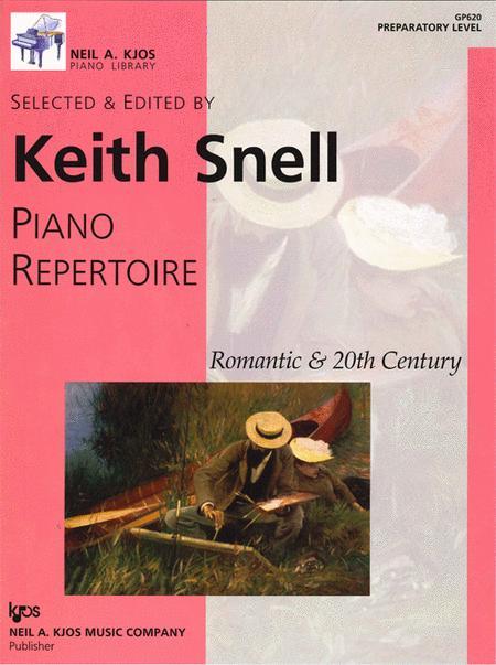 Piano Repertoire: Romantic & 20th Century - Preparatory Level