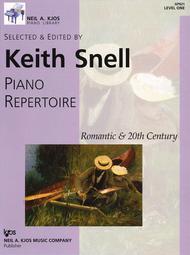 Neil A. Kjos Piano Library Piano Repertoire: Romantic-20th Century Level 1