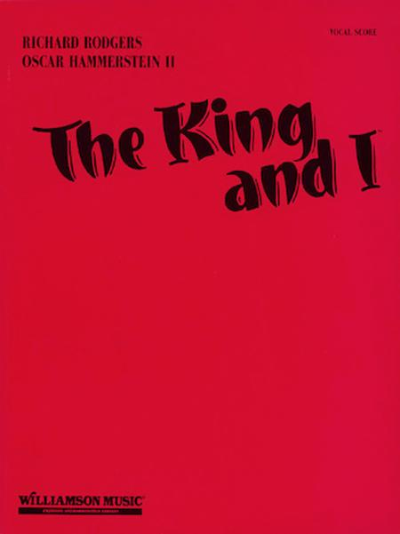 The King And I - Vocal Score