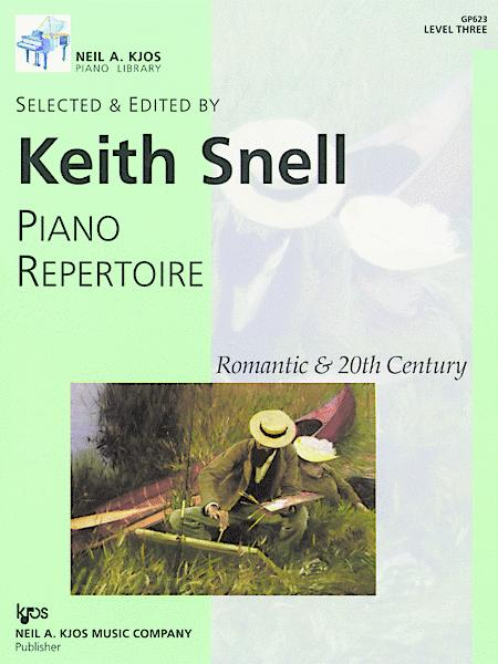 Piano Repertoire: Romantic & 20th Century, Level 3